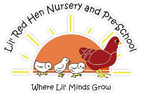 Lil' Red Hen Nursery and Pre-School Logo