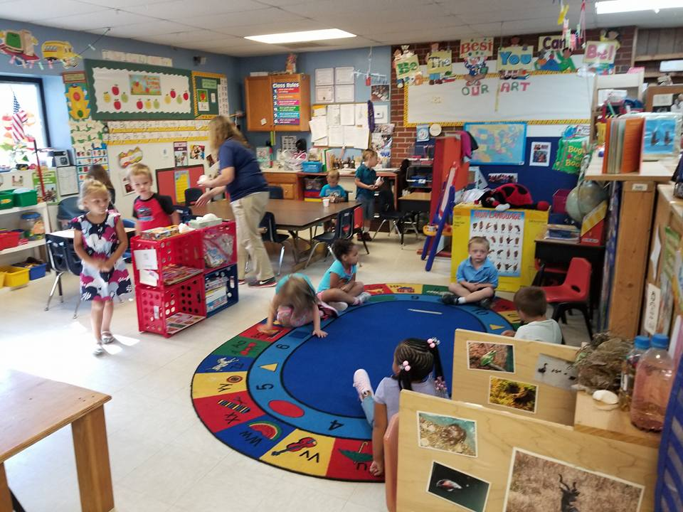 Reading Time At Lil Red Hen Nursery